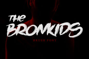 Print on Demand: The Bronkids Display Font By Bluestudio