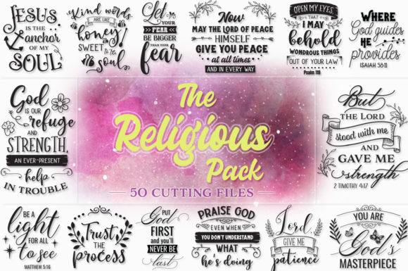 The Religious SVG Pack Graphic By SVG Addict Shop Image 1