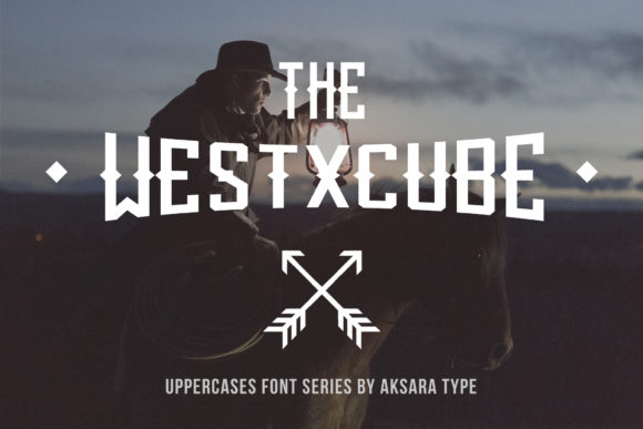 Print on Demand: The Westxcube Display Font By Freegoodstock