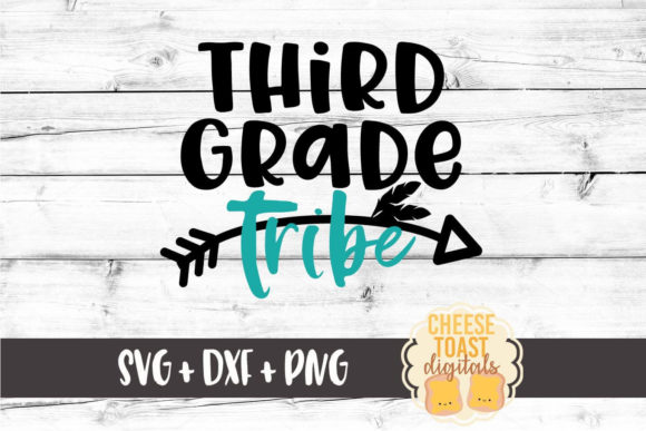 Download Free Third Grade Tribe Graphic By Cheesetoastdigitals Creative Fabrica for Cricut Explore, Silhouette and other cutting machines.