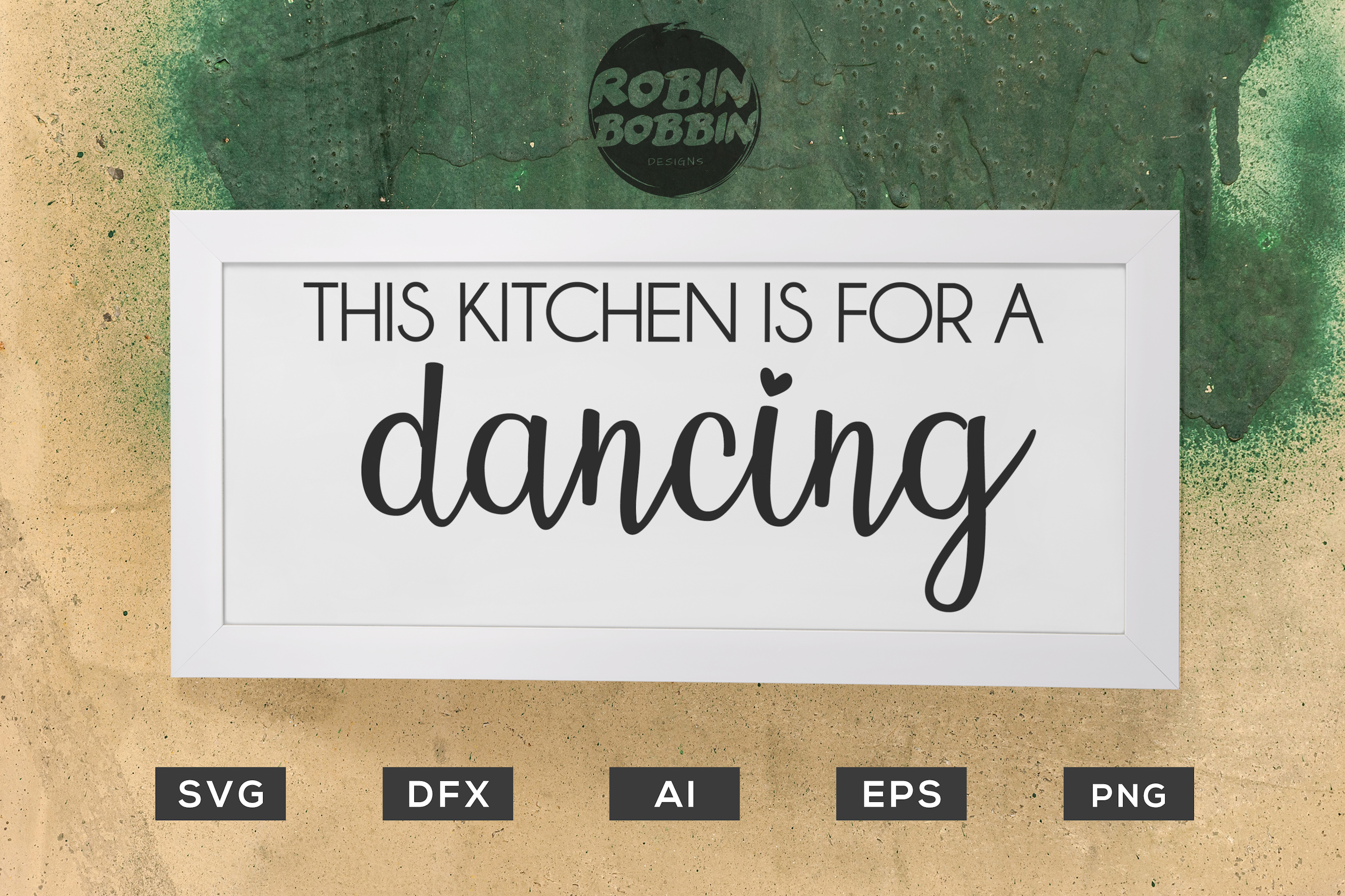 Download Free This Kitchen Is For Dancing Kitchen Svg Graphic By for Cricut Explore, Silhouette and other cutting machines.