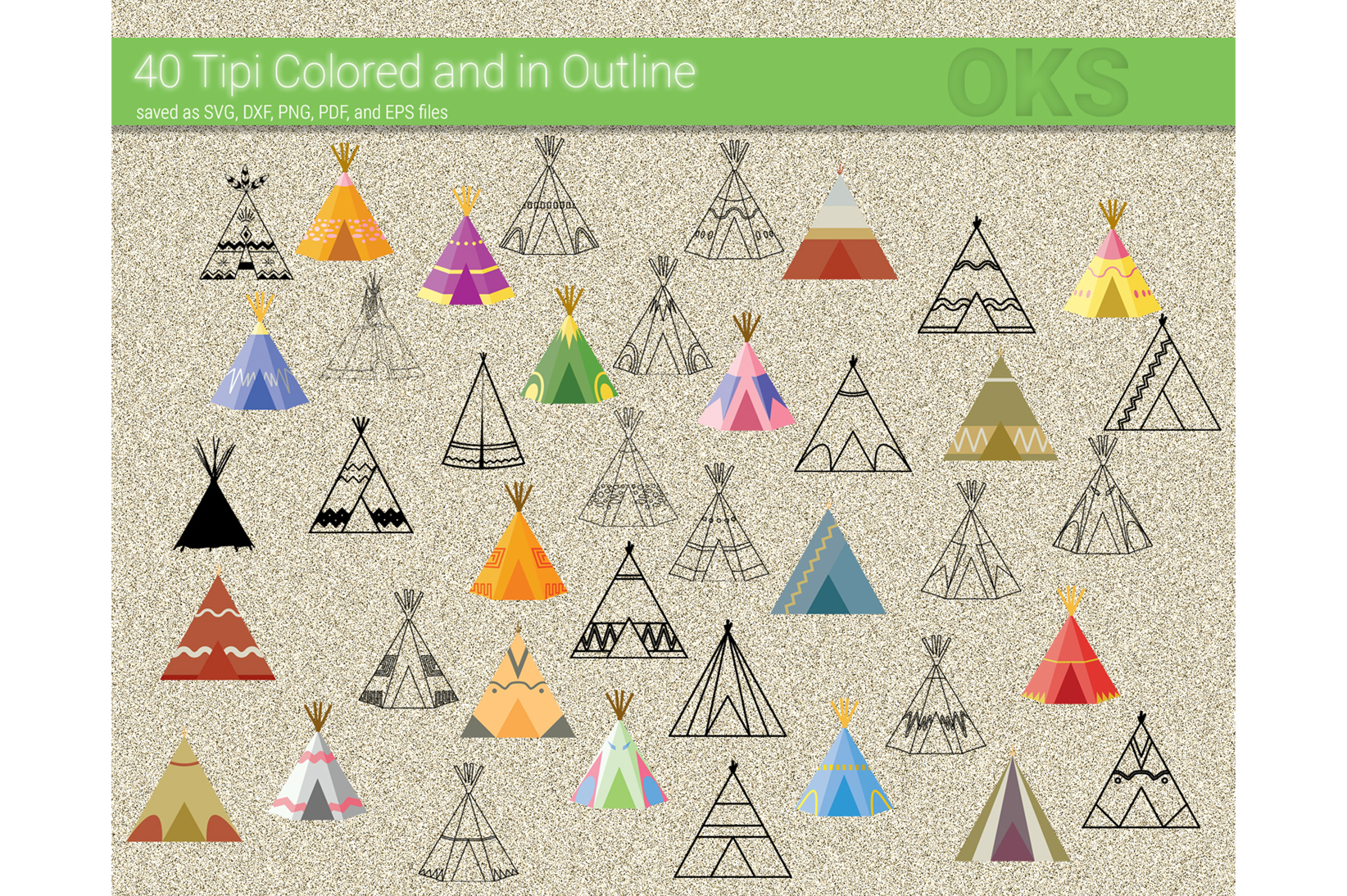 Download Free Tipi Teepee Vector Graphic By Crafteroks Creative Fabrica SVG Cut Files