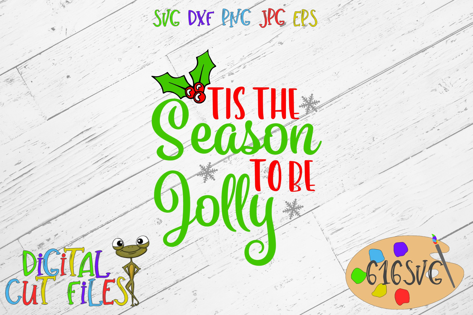 Tis The Season To Be Jolly Svg Graphic By 616svg Creative Fabrica