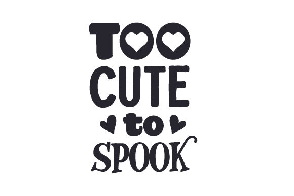 Too Cute to Spook Kids Craft Cut File By Creative Fabrica Crafts