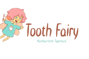 Tooth Fairy Font By Shattered Notion