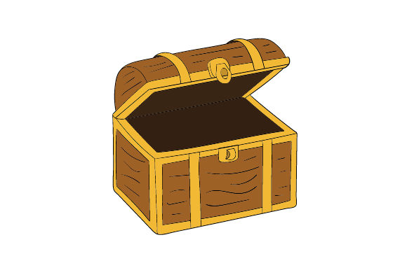 Treasure Chest Svg Cut File By Creative Fabrica Crafts