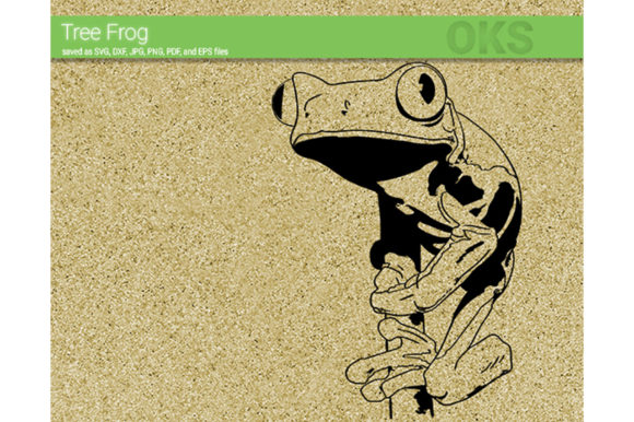 Download Free Tree Frog Svg Vector Graphic By Crafteroks Creative Fabrica for Cricut Explore, Silhouette and other cutting machines.