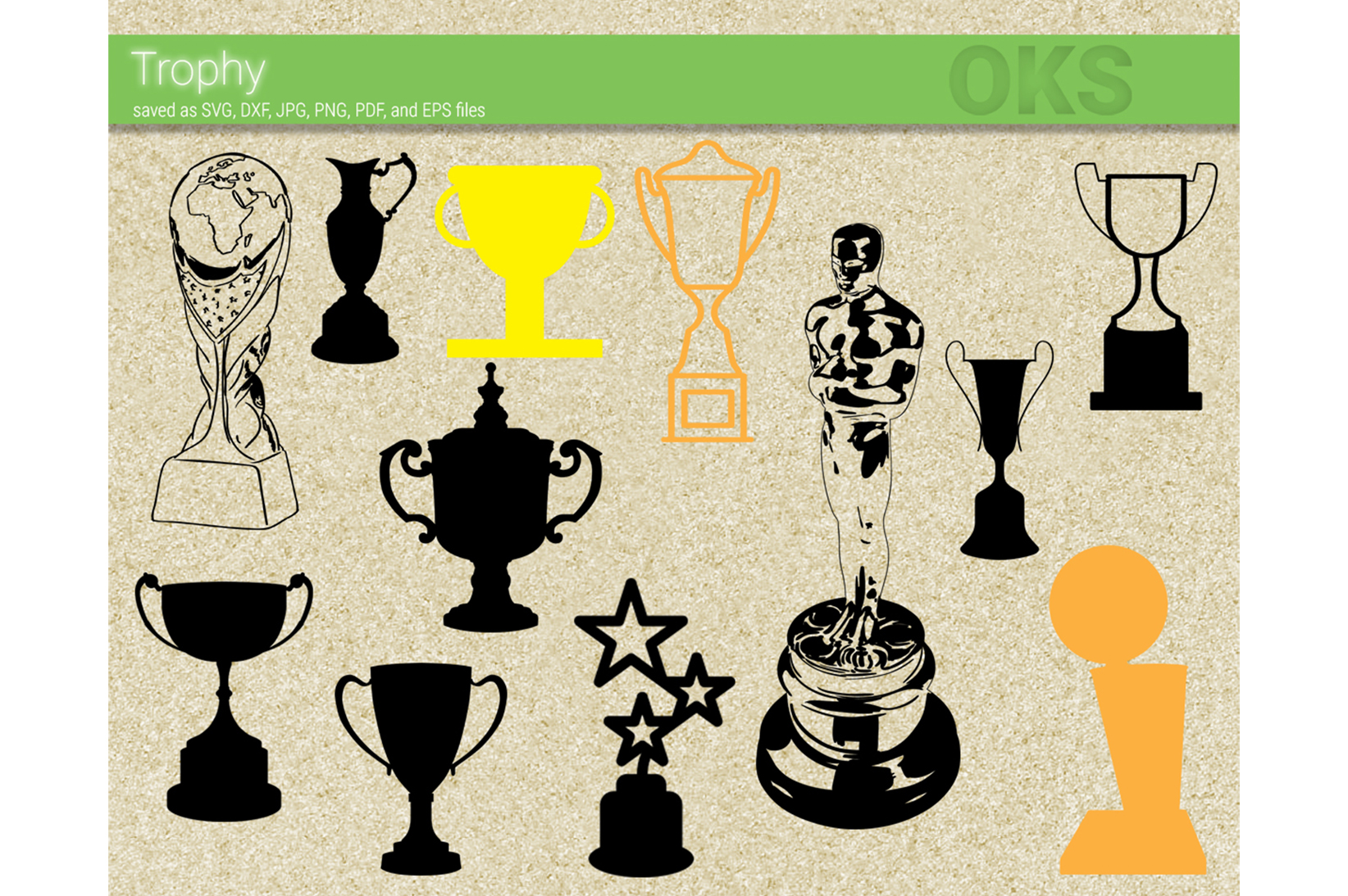 Download Free Trophy Graphic By Crafteroks Creative Fabrica for Cricut Explore, Silhouette and other cutting machines.