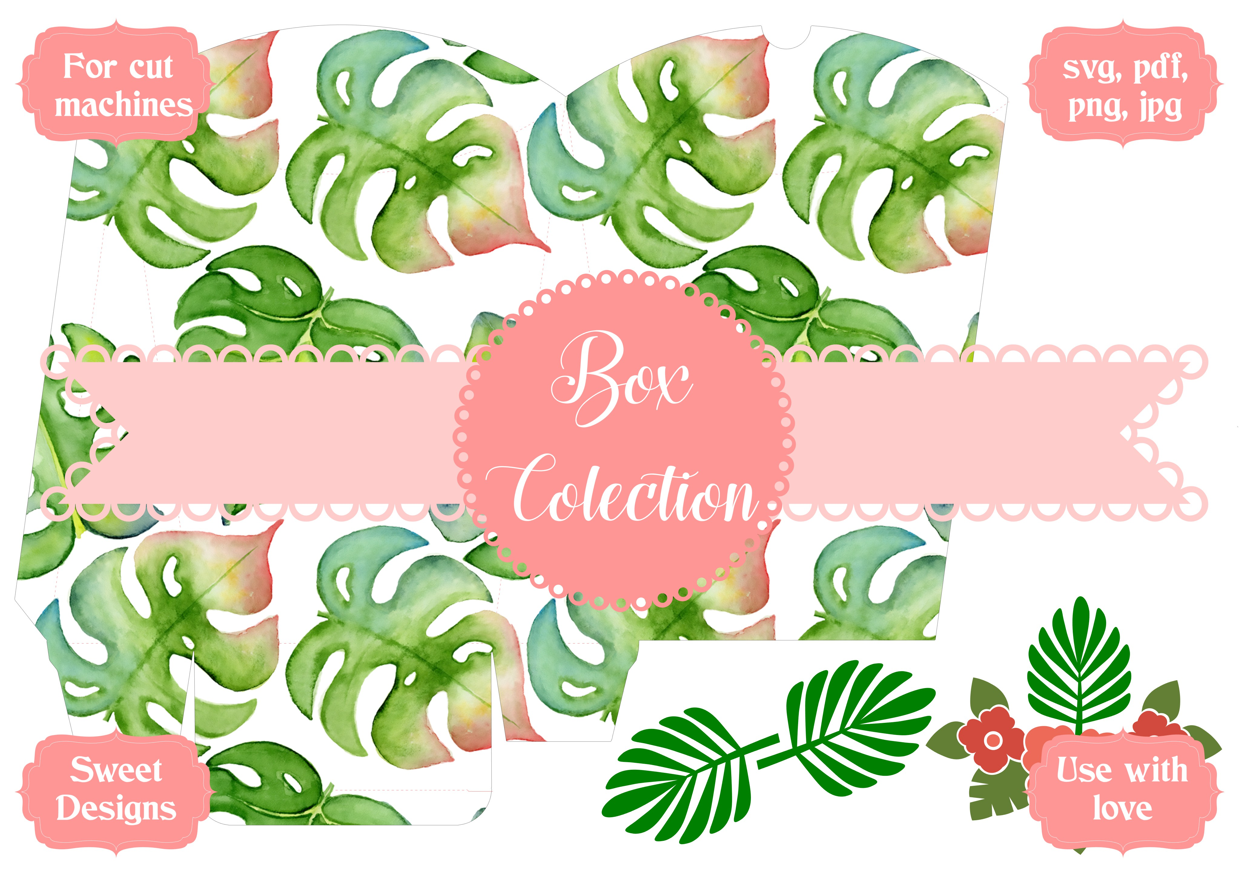 Download Free Tropical Box Graphic By Jgalluccio Creative Fabrica for Cricut Explore, Silhouette and other cutting machines.