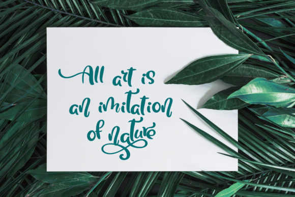 Tropical Font By Happy Letters Image 5