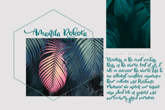 Tropical Font By Happy Letters Image 9