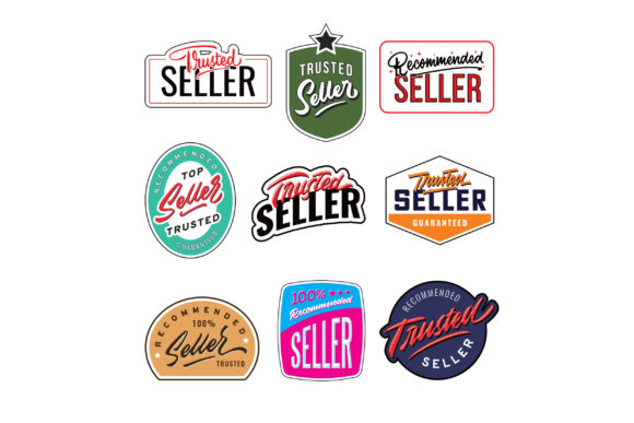 Print on Demand: Trusted Seller Badge Graphic Logos By Sons Of Baidlowi
