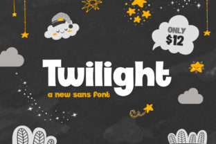 Print on Demand: Twilight Display Font By Salt & Pepper Designs