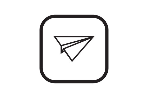 Download Free User Paper Planes Interface Icon Graphic By Zafreeloicon for Cricut Explore, Silhouette and other cutting machines.