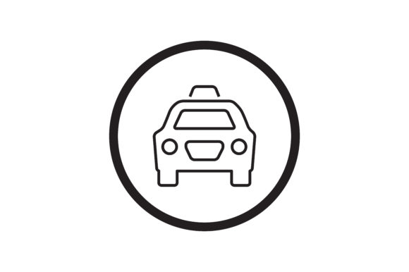 Download Free User Cab Icon Graphic By Zafreeloicon Creative Fabrica for Cricut Explore, Silhouette and other cutting machines.
