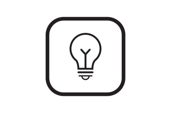 Download Free User Lightbulb Icon Graphic By Zafreeloicon Creative Fabrica for Cricut Explore, Silhouette and other cutting machines.