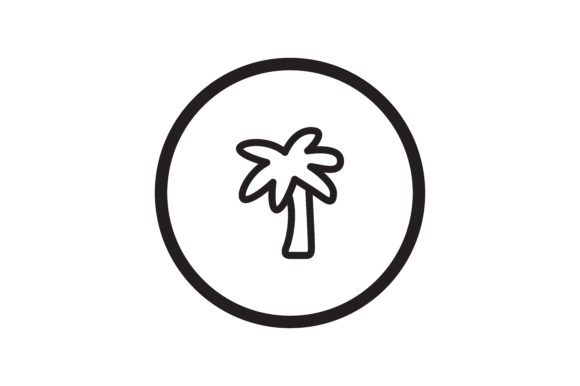 Download Free User Palm Tree Icon Graphic By Zafreeloicon Creative Fabrica for Cricut Explore, Silhouette and other cutting machines.