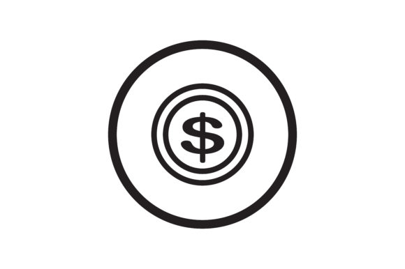 Download Free User Dollar Icon Graphic By Zafreeloicon Creative Fabrica for Cricut Explore, Silhouette and other cutting machines.