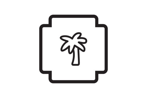 Download Free User Palm Trees Icon Graphic By Zafreeloicon Creative Fabrica for Cricut Explore, Silhouette and other cutting machines.