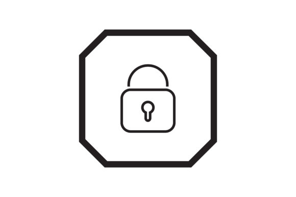 Download Free User Lock Interface Icon Graphic By Zafreeloicon Creative Fabrica for Cricut Explore, Silhouette and other cutting machines.