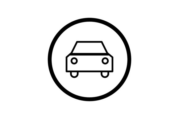 Download Free User Car Interface Icon Graphic By Zafreeloicon Creative Fabrica for Cricut Explore, Silhouette and other cutting machines.