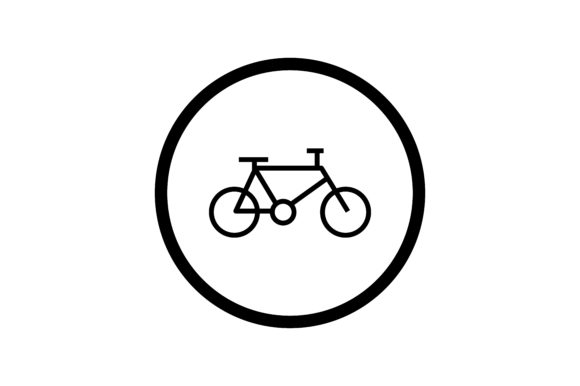 Download Free User Bicycle Interface Icon Graphic By Zafreeloicon Creative for Cricut Explore, Silhouette and other cutting machines.