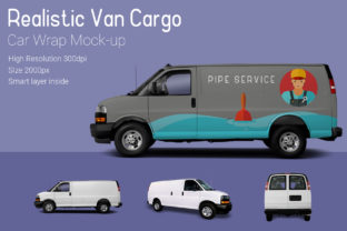 Van Mockup Graphic By gumacreative