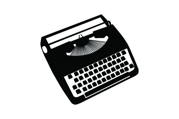 Download Free Vintage Typewriter Clipart Images In Color Svg Cut File By for Cricut Explore, Silhouette and other cutting machines.