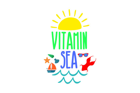 Download Free Vitamin Sea Svg Cut File By Creative Fabrica Crafts Creative for Cricut Explore, Silhouette and other cutting machines.