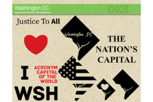 Download Free Washington Dc Svg Vector Graphic By Crafteroks Creative Fabrica for Cricut Explore, Silhouette and other cutting machines.