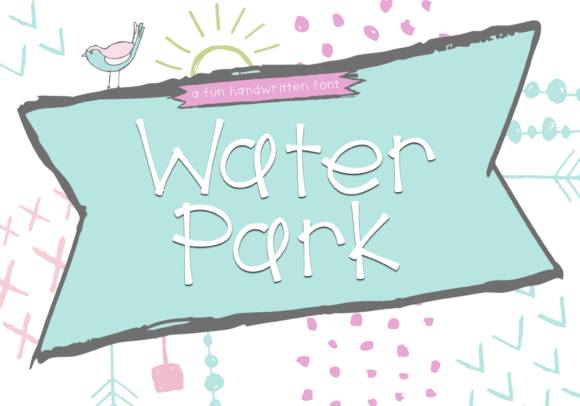 Print on Demand: Water Park Display Font By KA Designs - Image 1