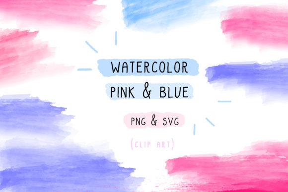 Print on Demand: Watercolor Bundle Brush Stroke Set Graphic Icons By Inkclouddesign