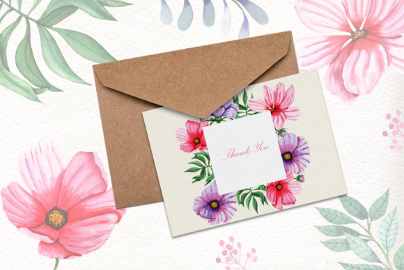 Print on Demand: Watercolor Summer Collection Graphic Illustrations By tanatadesign - Image 7
