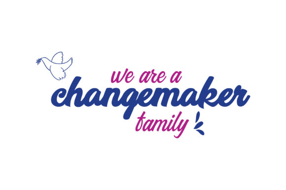 Download Free We Are A Changemaker Family Quote Svg Cut Graphic By Thelucky for Cricut Explore, Silhouette and other cutting machines.