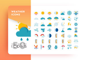 Weather Icon Packs Graphic By Goodware.Std