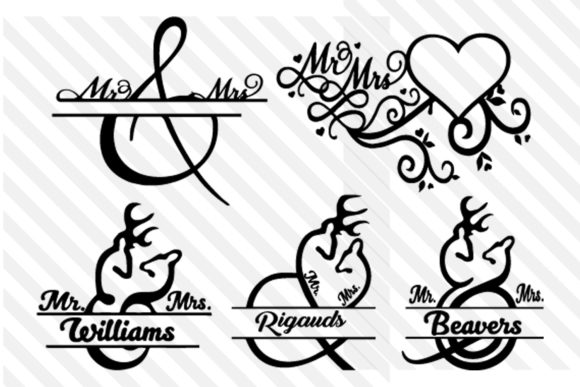 Print on Demand: Wedding Couple Love Graphic Print Templates By johanruartist