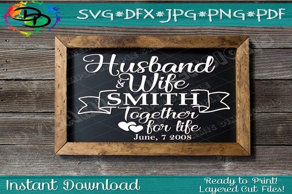 Download Free Wedding Svg Graphic By Dynamicdimensions Creative Fabrica for Cricut Explore, Silhouette and other cutting machines.