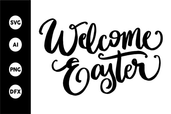 Print on Demand: Welcome Easter Graphic Crafts By goodjavastudio