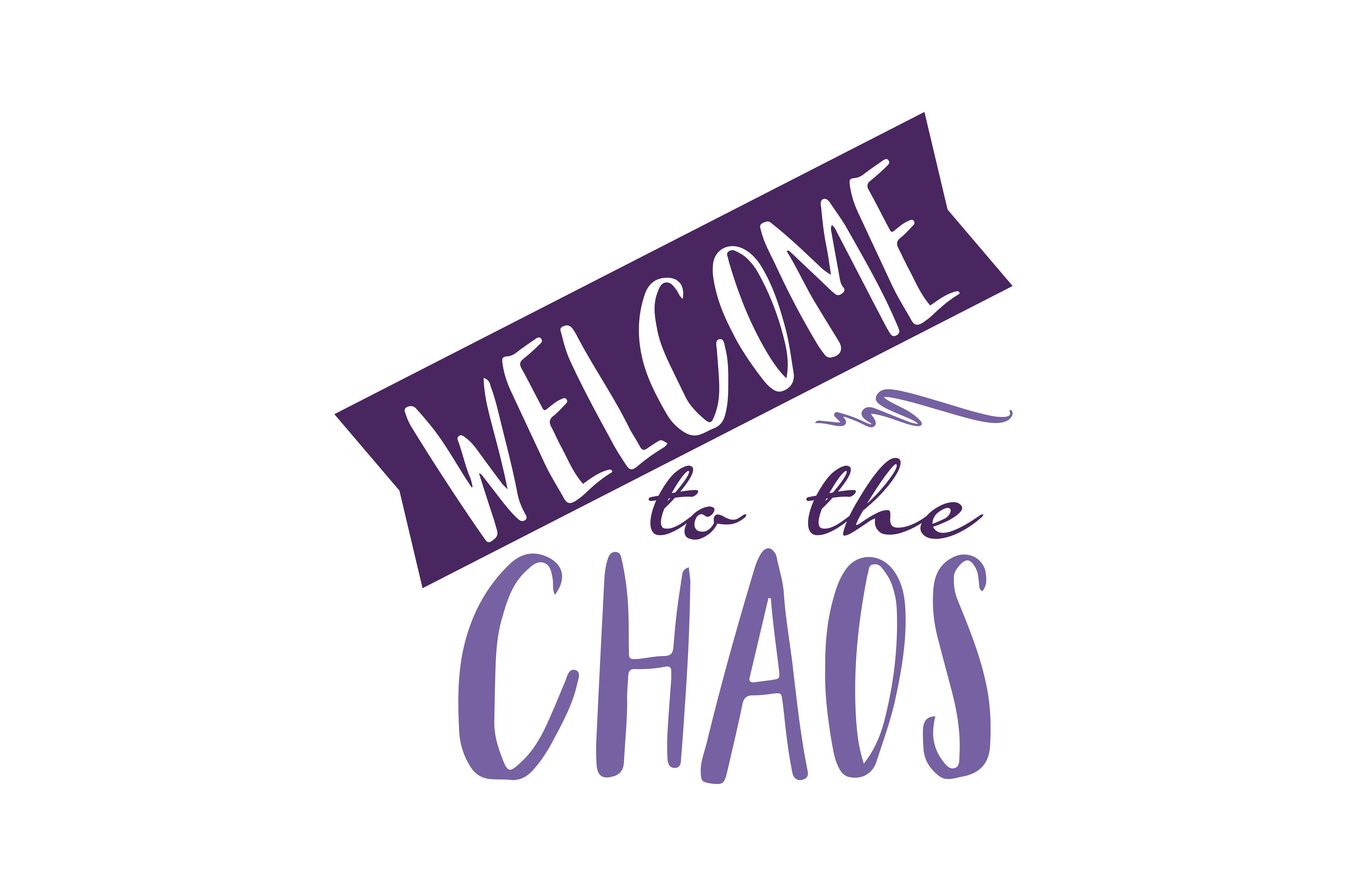 Download Free Welcome To The Chaos Quote Svg Cut Graphic By Thelucky for Cricut Explore, Silhouette and other cutting machines.