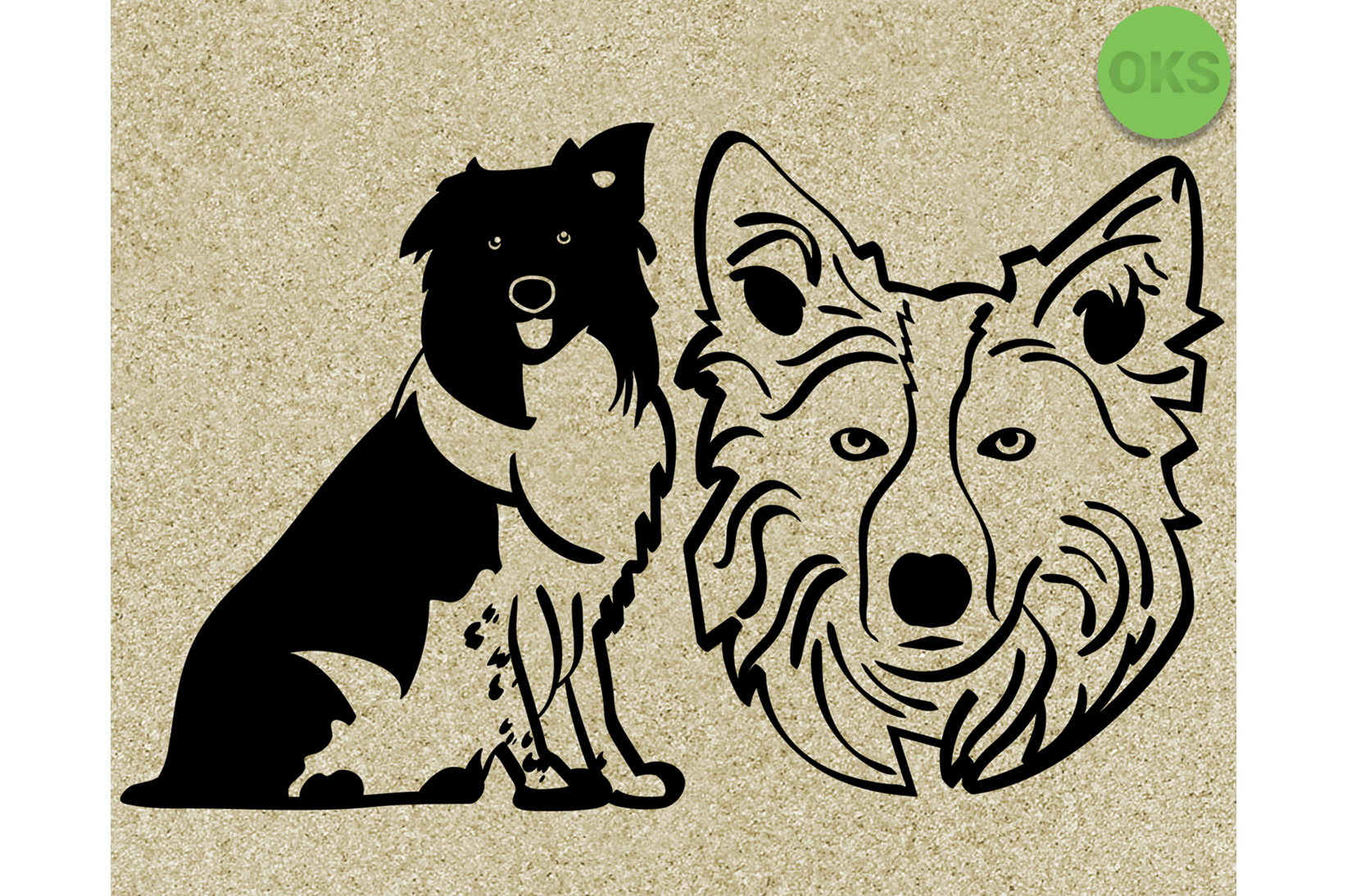 Download Free Welsh Sheepdog Svg Border Collie Vector Graphic By Crafteroks for Cricut Explore, Silhouette and other cutting machines.