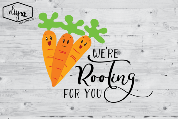 We're Rooting for You Graphic Illustrations By Sheryl Holst