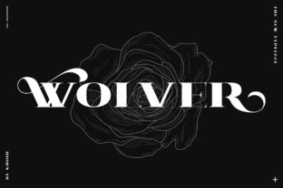 Wolver Font By mrkhoir012