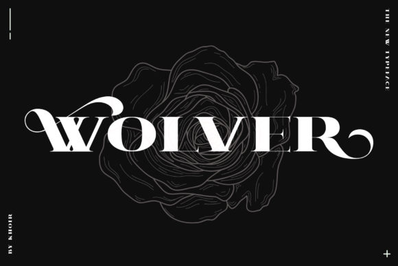 Print on Demand: Wolver Serif Font By mrkhoir012