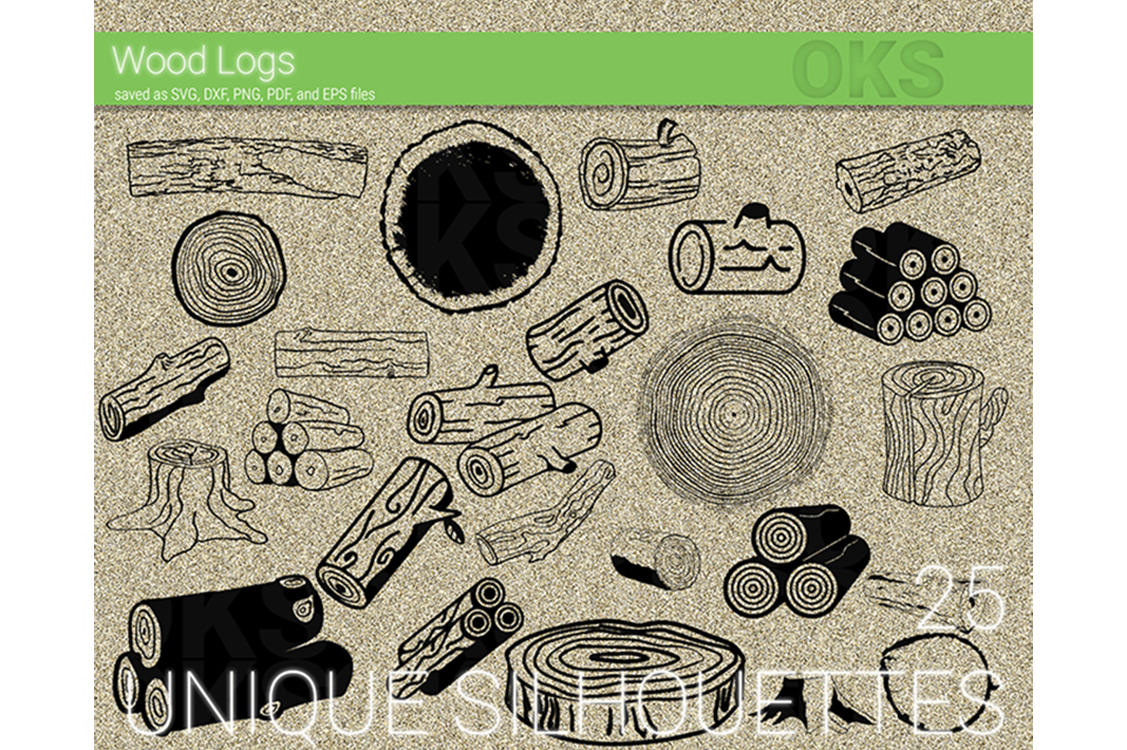 Download Free Wood Log Vector Farm Log Graphic By Crafteroks Creative Fabrica for Cricut Explore, Silhouette and other cutting machines.