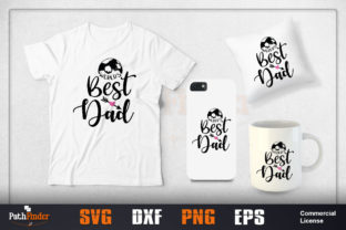 Download Free World S Best Dad Design Graphic By Pathfinder Creative Fabrica for Cricut Explore, Silhouette and other cutting machines.