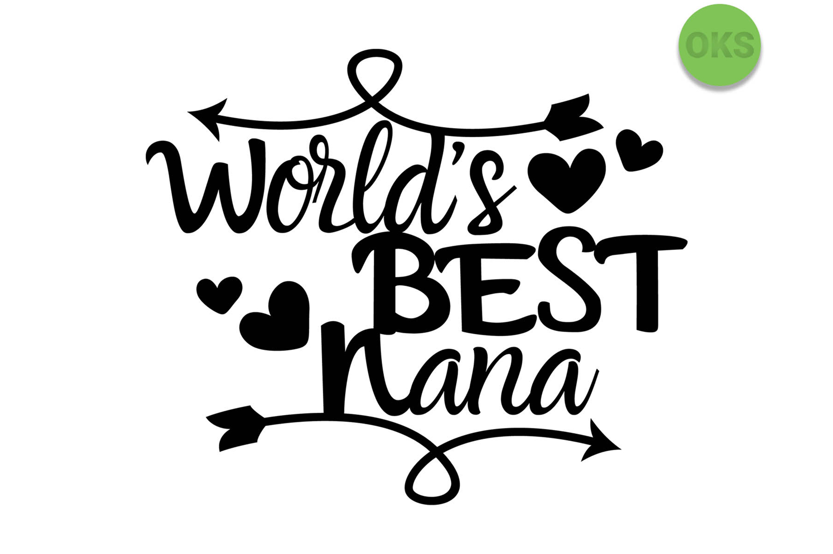 Download Free World S Best Nana Svg Vector Graphic By Crafteroks Creative for Cricut Explore, Silhouette and other cutting machines.