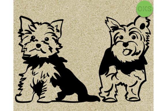 Download Free Yorkshire Terrier Svg Dog Vector Clipart Grafico Por Crafteroks for Cricut Explore, Silhouette and other cutting machines.
