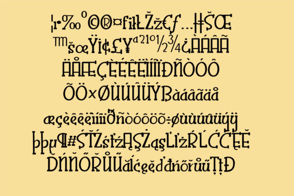 Print on Demand: Zoppity Serif Font By Illustration Ink - Image 3