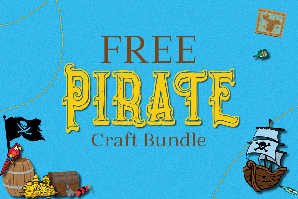 Download Free Free Pirate Craft Bundle Bundle Creative Fabrica for Cricut Explore, Silhouette and other cutting machines.