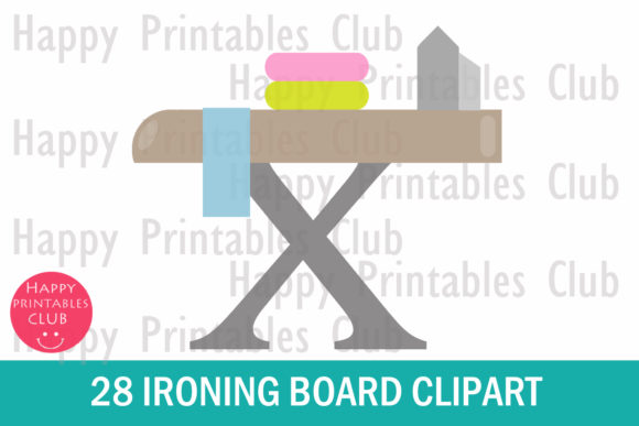 28 Ironing Board Clipart Graphics